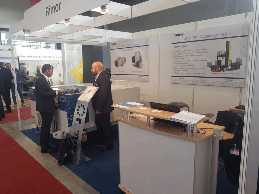 Rimor at the Automotive Testing Expo Europe 2019