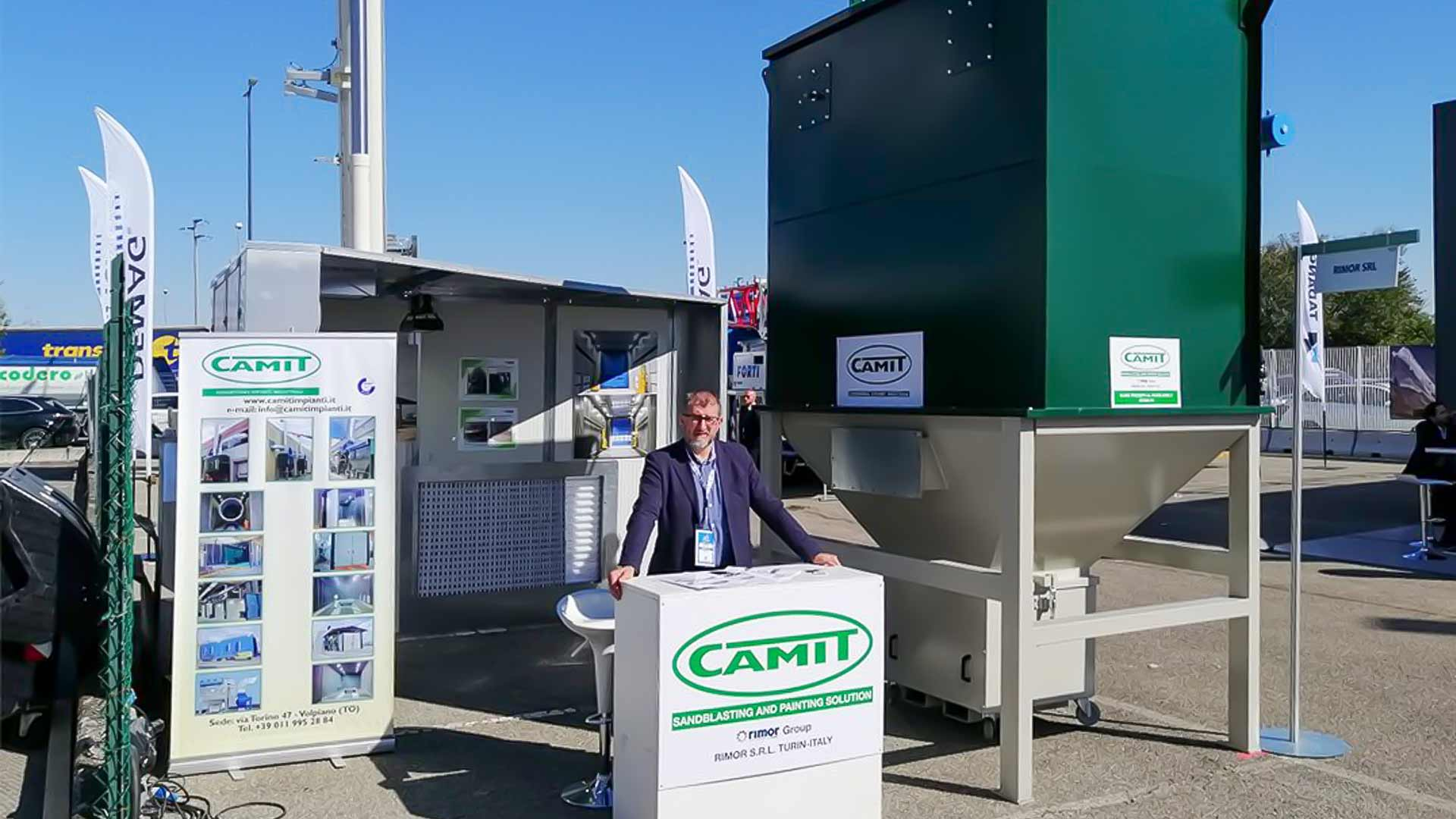 Rimor-Camit at the GIS 2019 fair