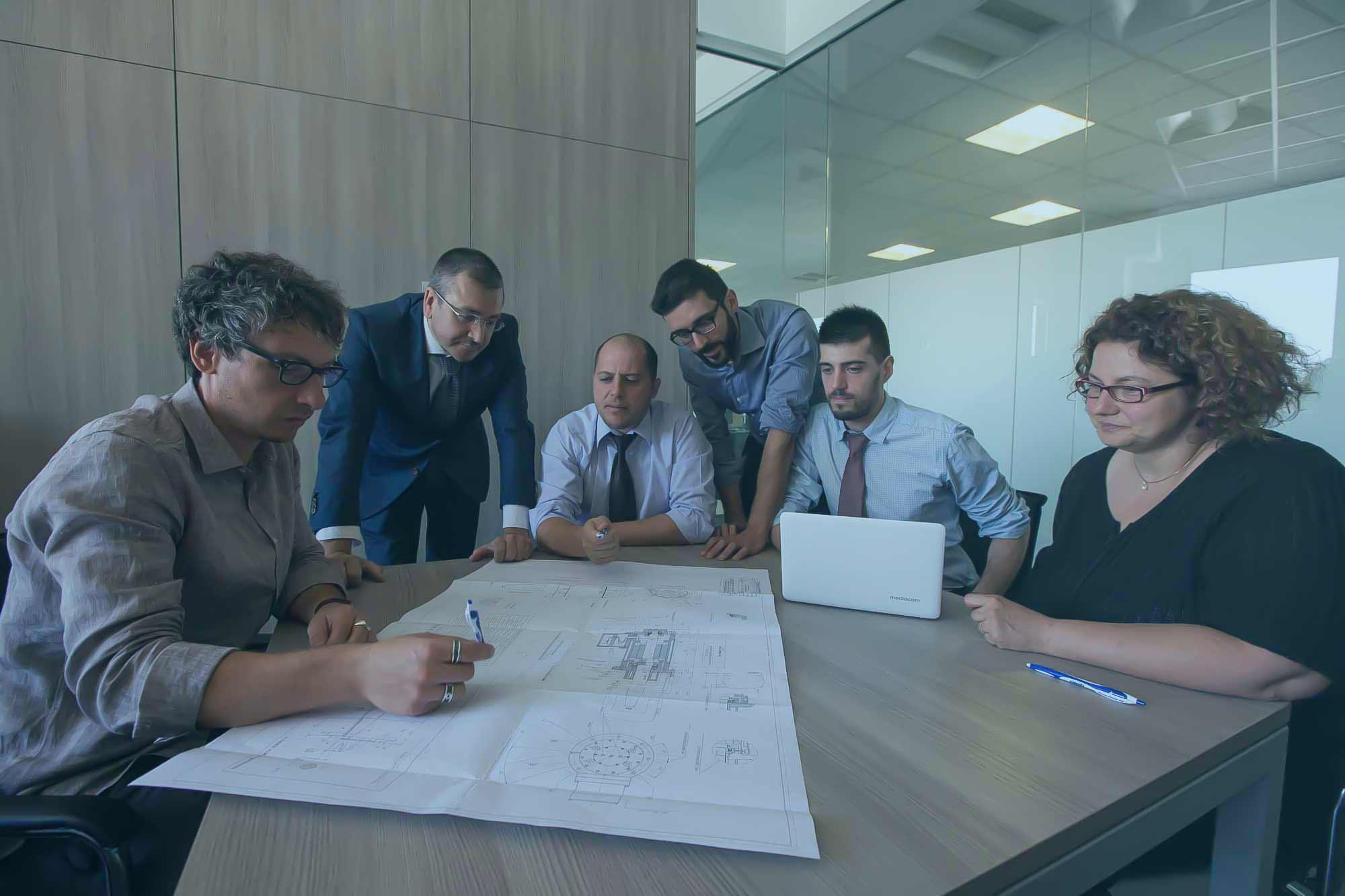 Rimor | Come Lavoriamo | Divisioni di Ingegneria, Produzione e Servizi