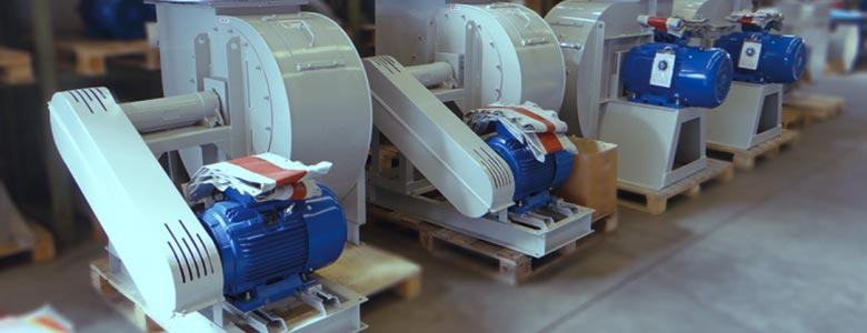 Ventilazione industriale e trattamento aria nei processi industriali | Ventilatori insonorizzati