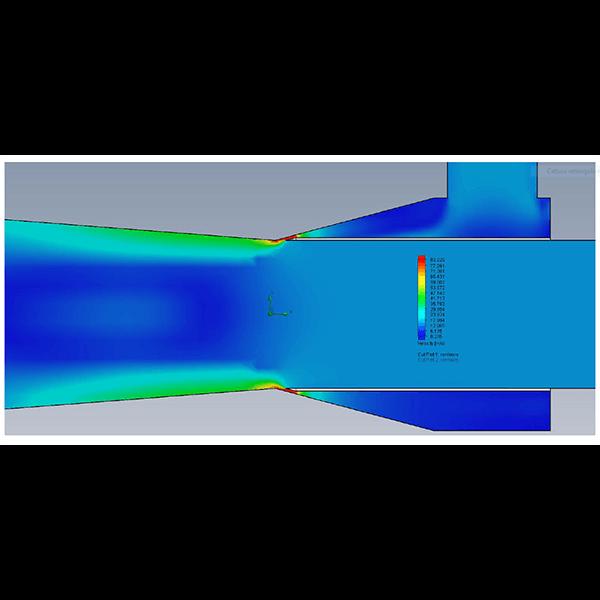 Comportamento Venturi e Bernoulli