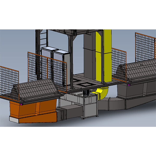 Impianto Ventilazione Sala Test